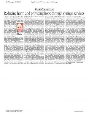 Reducing Harm And Providing Hope Through Syringe Services