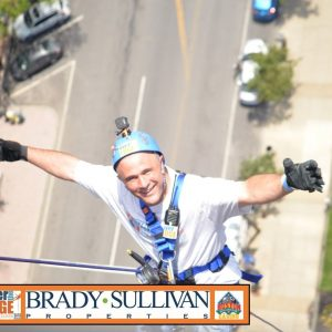 "Would You Go ""Over The Edge"" To Support Your Community?"