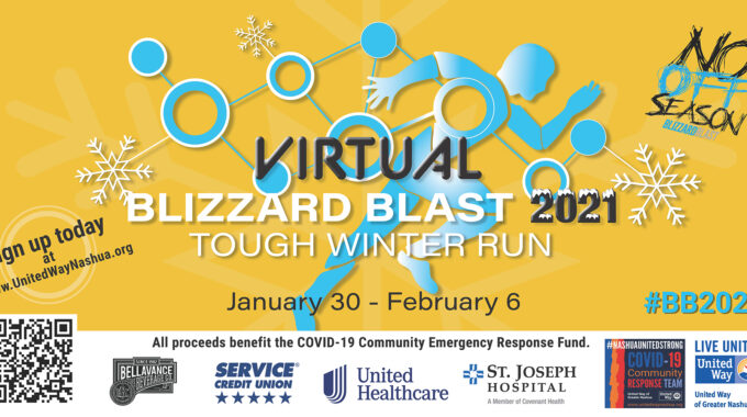 """United Way """"Blizzard Blast"""" Goes Virtual For 2021, Spotlights Greater Nashua Nonprofits Partners, And Raises Funds For COVID Relief"""
