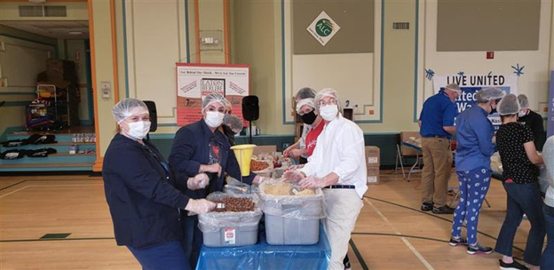 United Way Mobilizes Volunteers To Make 15,000 Meals For Families In Need